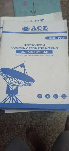 Gate Electronics and Communication ACE textbooks