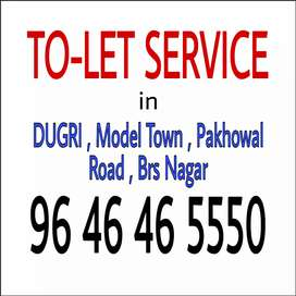 2bhk, model town, ready to move