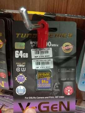 SD CARD V-GEN 64GB TURBO
