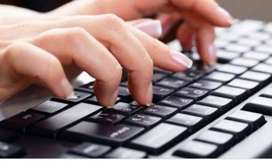 Typist for legal work
