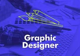 GRAPHIC DESIGNER ( FEMALE FRESHERS)