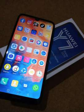Huawei Y7 Prime 2019 Full Box 5 Month Warranty.