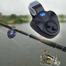 Fish Finder Bite Alarm Fishing Rod Clip On Alat Pelacak Gigita ID522