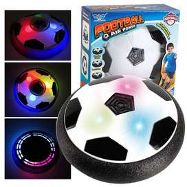 LED Light Flashing Suspension Ball Air Power Football Toy Home Game Di