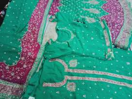 Fish lehnga and beautiful indian lehnga  and 2 shirt 1 stich 1 unstich