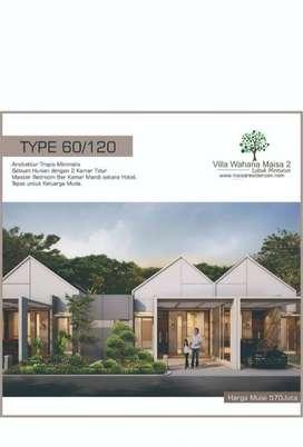 Rumah Mewah Tropis Minimalis