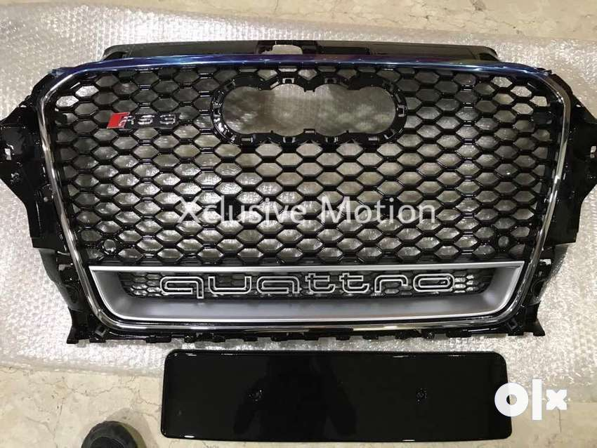 Audi A3 rs3 style front grill 0