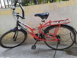 In completely working condition. With chain lock.Good buy.