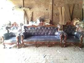 5 setter sofa set shisham