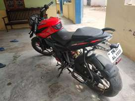 Pulsar ns  new  red colour. Insurance upto 5 years