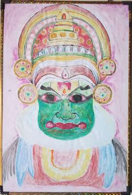 Kathakali painting