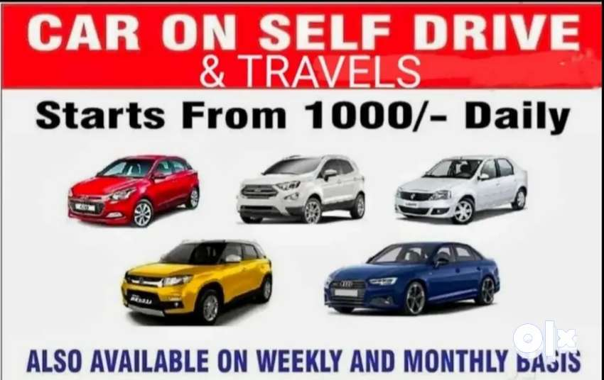 Cars for selfdrive or long lease with driver or without driver, trave
