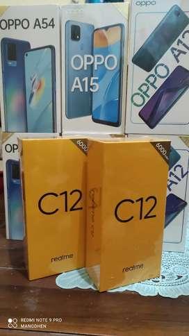 Realme C12 3GB+32GB • Baru • Garansi Resmi
