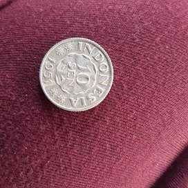 Uang koin kuno 10 sen tahun 1951
