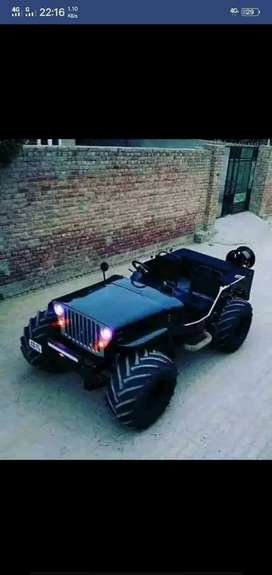 Full modified Jeep ready your booking to All States