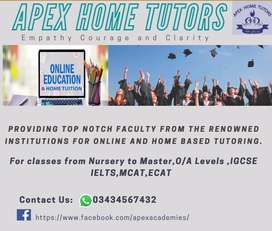 Female home tutors required