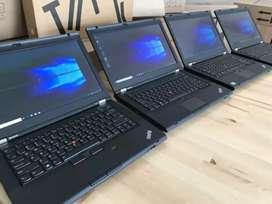 Lenovo ThinkPad (8gb ram+500gb hdd) bill, flip bag laptop used