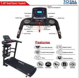 Treadmill Elektrik TL-607 Termurah & Terlengkap Free Ongkir Rakit COD
