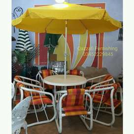 Garden chairs and Outdoor chairs Patio terrace furniture QAZZAFI Fur