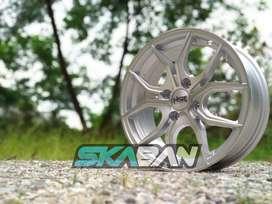 jual velg hsr wheel ring 14x6 utk mobil mirage,march,swift