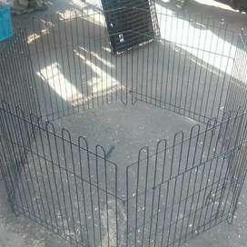 Kandang pagar untuk kucing anjing dan hewan lainnya ukuran 60cm