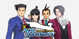 anime series ace of attorney S1+S2