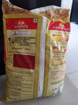 Aashirwad Aata 20kgs. 2 packets. Each packet contains 10kgs