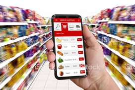 Grocery and Ecommerce Project at Home Service
