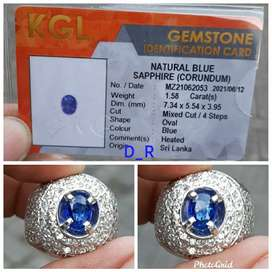 NATURAL BLUE SAFIR SRILANKA