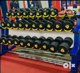 Gym dumble plate olympic rod.