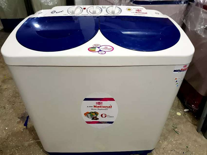 National 808Cw twin washing  Drayer Machine with waranty free delivery 0