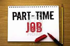Part time job available for male and Female