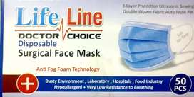 Face Mask Disposable (3 ply)