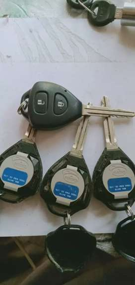 Toyota fortune remote control available new