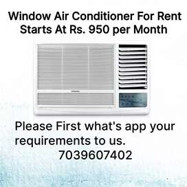 Air Conditioner For Rent Basis ( No Security Deposit )