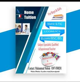 HOME TUITION (EXPERIENCED PROFESSOR)