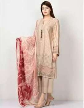 Lawn suit for females. Rs. 1799