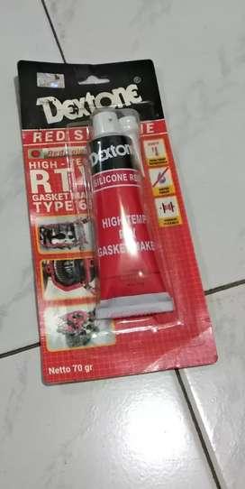 Lem Sealer/dexton/lem gasket/silikon red