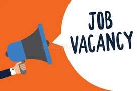 Urgently hiring on ground staff