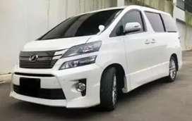 Toyota Vellfire 2.4 ZG Audio less 2013 istimewa
