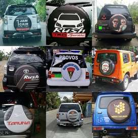 Cover/Sarung Ban Jeep/Rush/Terios/Touring/Ecosport heart one dua tiga