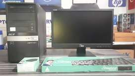 Full Set Computer with Warranty 8000 fix price