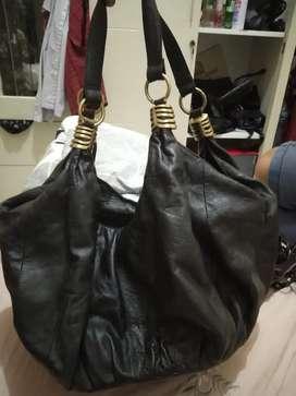 Dijual tas Hobo kulit second