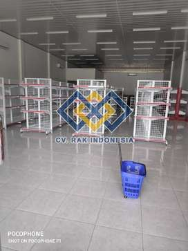 Jual Rak Minimarket Rak Toko Rak Gondola Rak Gudang Meja Kasir