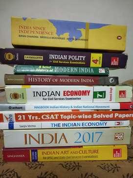 UPSC Civil Service Books