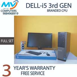 500GB/HDD@3Year WARRANTY)i5 3rd@4GB-RAM)BRANDED=computer&cpu/graphic2g