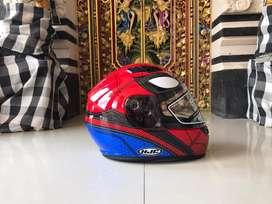 Helm HJC marvel series spiderman size M like new