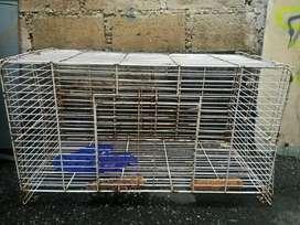 Kandang kucing+tangkringan burung