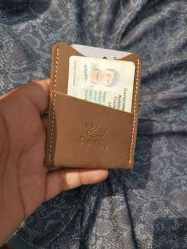 slim bank card holder very unique genuine leather