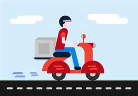 We Need some delivery Boys in Muzaffarnagar & Meerut.